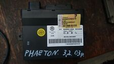 VW Phaeton Door Lock Control Unit 3d0909137bx
