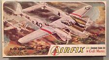 Airfix 1:72 P-38 Lightning by Craft Master Model Kit