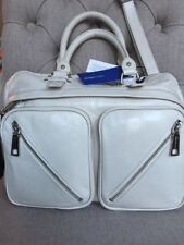 New Rebecca Minkoff PARAMOUR Satchel Bag Purse Handbag White $498