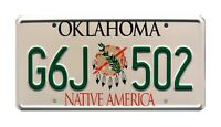 Twister | Bill Paxton's Dodge | G6J 502 | STAMPED Replica Prop License Plate
