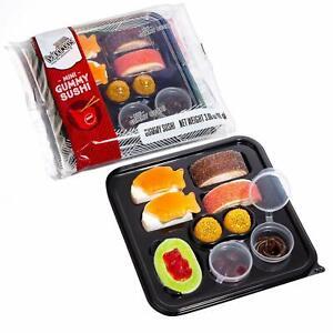 Raindrops Gummy Candy Sushi Mini Bento Box 1 Count FREE SHIPPING