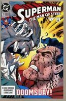 Superman The Man Of Steel #19-1993-vf/nm 9.0 Doomsday battle 1st STANDARD Cover