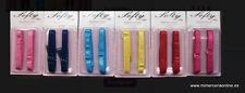 1 par de tirantes sujetador fantasía, SOFTY BRA, 10 mm, 20 colores disponibles