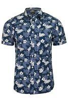 Tokyo Laundry Mens 'Fermont' Hawaiian Floral Shirt - Short Sleeved