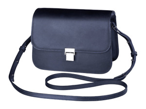 Olympus Shoulder Bag Leather Collection - Black Like My Dress