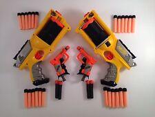 NERF - 2 x Maverick REV-6 & 2 x Jolt PLUS loads darts BUNDLE Job Lot FREE POST