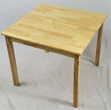 eHemco Kids Solid Hard Wood Table (Large) in Natural (without chair)