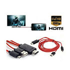 MHL Micro USB to HDMI 1080P HD TV Adapter for Samsung Galaxy S5 S4 S3 Note 3 2