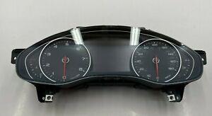 2012 AUDI A6 A7- INSTRUMENT SPEEDOMETER GAUGE CLUSTER W/ NIGHT VISION OEM