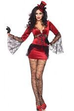 Ladies Quality Sexy 5 Pce Witch Spider Halloween Spiderwoman Costume Size 10-12