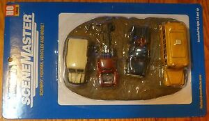 Walthers #949-3006 Junk Truck Row -- 1-Piece Casting