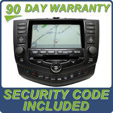 Honda Accord NAVIGATION Nav GPS Touch Screen Display LCD 6 Disc CD Changer 2GY2