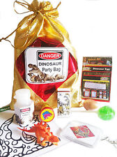 Dinosaur Party loot bag with 9 items inside, great value its all done for you!