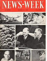 1933 Newsweek March 11-Roosevelt asks for wartime powers; King Kong film wows