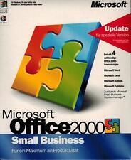 MS Office 2000 Small Business Vollversionsbundel inkl.2ter Installation neu
