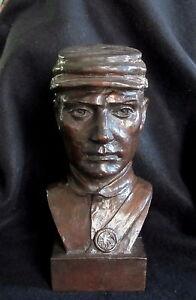 Bronze Lost Wax Cast Sculpture Portrait Civil War Soldier Modern Art Foundry