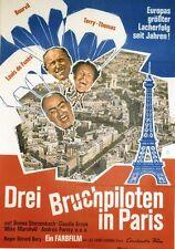 """""""LA GRANDE VADROUILLE"""" Affiche allemande ent Gérard OURY,BOURVIL,Louis DE FUNES"""