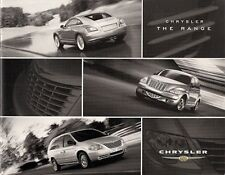 Chrysler 2004-05 UK Market Sales Brochure PT Cruiser Voyager Crossfire