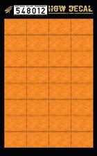 548012 HGW Decal - LIGHT WOOD / YELLOW (transparent)