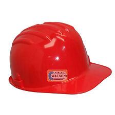 ROUGE casque de sécurité Travail Site Solide Chapeau Bosse Capuchon Impacte
