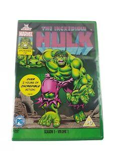 The Incredible Hulk Season One Volume One Marvel Originals Series 90s DVD UK R2