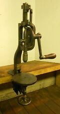 Vintage Yankee No. 1003 Bench Mount Clamp On Cast Iron Drill Press