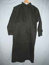 BRAE FAIR Vintage Black Equine English Weather Riding  Coat Women's SMALL RWS