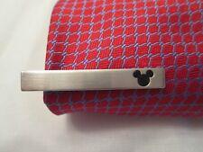 Mickey Mouse Silver Tie Clip