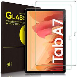 "Film Verre Trempé Pour Samsung Galaxy Tab A7 10.4 "" Full de Protection HD 9H"