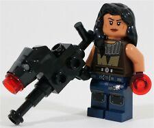 LEGO STAR WARS THE MANDALORIAN CARA DUNE MINIFIGURE - MADE OF GENUINE LEGO PARTS