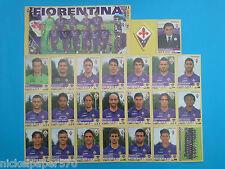 FIGURINE CALCIATORI PANINI 2013-14 2014 Squadra Fiorentina Completo