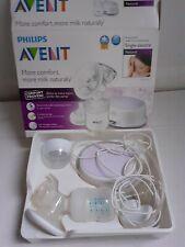 PHILIPS AVENT Comfort SCF332 Electric Breast Pump 3 Settings Natural BPA Free