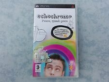 ECHOCHROME per SONY PLAYSTATION PORTABLE PSP ITALIANO COMPLETO COME NUOVO