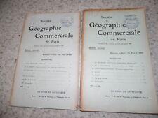 1909.Société géographie commerciale.Hinterland commercial de l'oranie.Maroc..