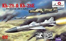 Kh-28/X-28 AS-9 Kyle pesados como misil (2 piezas) con carro para su 17/20/22 1/72 Amodel