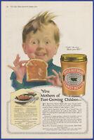 Vintage 1919 BEECH-NUT Peanut Butter Kitchen Art Decor Ephemera Print Ad 1910's