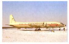 CSA Ceskoslovenska Aerolinie IL-18 Postcard