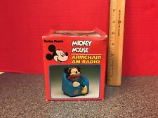 Disney's Mickey Mouse Armchair AM Radio From Radio Shack