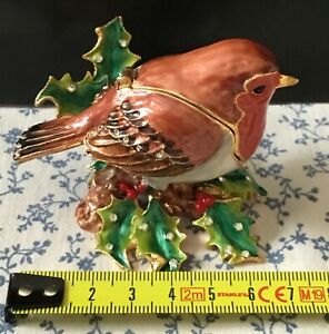 Hidden Treasures Robin ornament