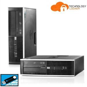 HP Compaq Elite 8300 SFF Desktop PC Intel i7-3770 4GB RAM 500GB HDD Win 10 Pro