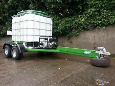 Trailer water bowser tanker tank Land rover ATV quad gator tractor drinking 4x4