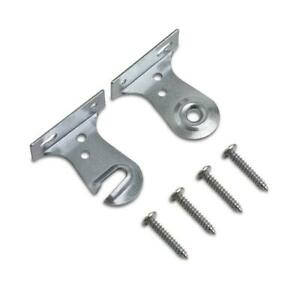 Vinyl Roller Shade Steel Bracket For Outside Mount Window Frame 2 Pack w/ Screws