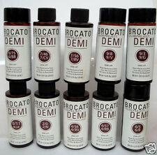 BROCATO Color Project DEMI No Lift Hair Color ~Lot of 10 PreSelected Bottles ~#1