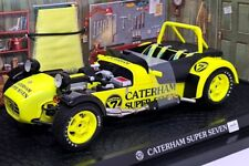 Kyosho 1/18 Scale - 7022Y Caterham Super Seven JPE Yellow - Diecast Model Car