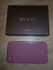 Gucci IPhone 4S Silikon Cover Burgundy Pink