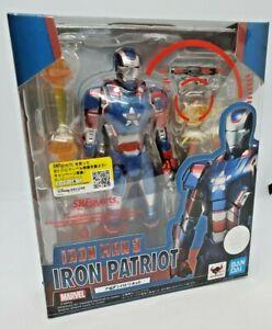 Bandai SH Figuarts IRON PATRIOT Avengers Iron Man 3 Marvel US SHIP NEW Sealed