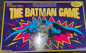 SEALED The Batman Game 1989 Board Game From University Games COMPLETE SEALED