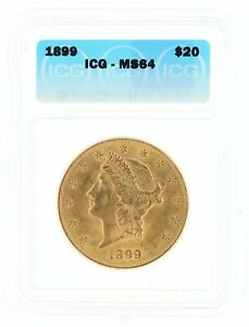 1899 Double Eagle ICG MS64 $20