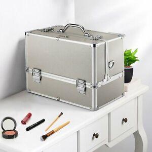 Kosmetikkoffer Beautycase Alu Multikoffer Werkzeug Schminkkoffer Make-up XXL