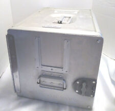 Atlas Standard Unit Aircraft Container Food Service Storage Silver/Aluminum